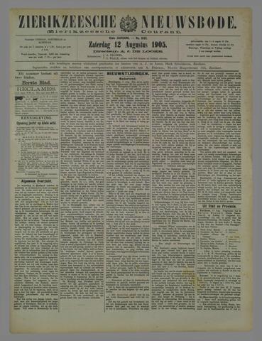 Zierikzeesche Nieuwsbode 1905-08-12