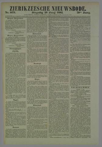 Zierikzeesche Nieuwsbode 1882-06-20