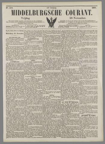 Middelburgsche Courant 1897-11-26