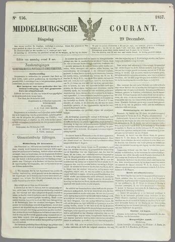 Middelburgsche Courant 1857-12-29