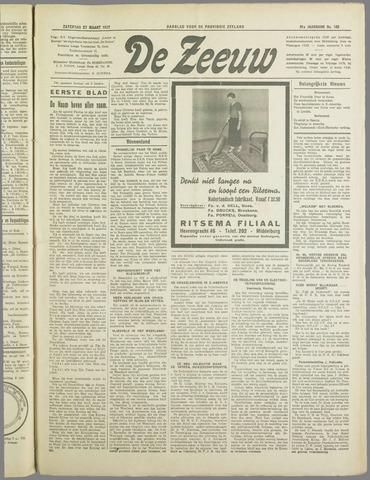 De Zeeuw. Christelijk-historisch nieuwsblad voor Zeeland 1937-03-27