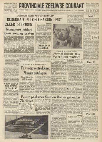 Provinciale Zeeuwse Courant 1961-03-03