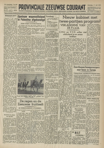 Provinciale Zeeuwse Courant 1948-07-17