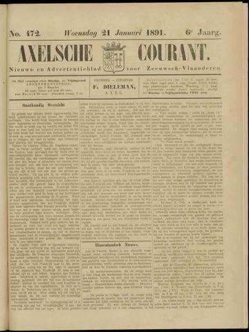 Axelsche Courant 1891-01-21