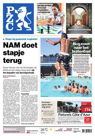 Provinciale Zeeuwse Courant 2016-09-08