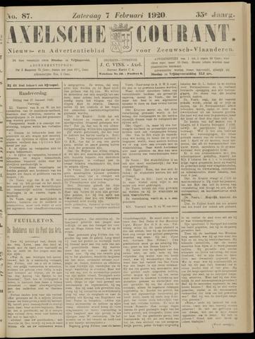 Axelsche Courant 1920-02-07