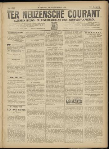 Ter Neuzensche Courant. Algemeen Nieuws- en Advertentieblad voor Zeeuwsch-Vlaanderen / Neuzensche Courant ... (idem) / (Algemeen) nieuws en advertentieblad voor Zeeuwsch-Vlaanderen 1931-09-28