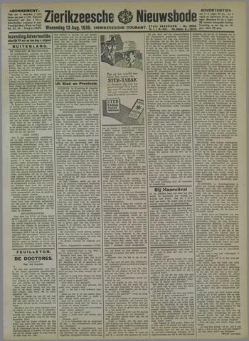 Zierikzeesche Nieuwsbode 1930-08-13