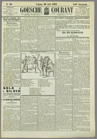 Goessche Courant 1932-07-22