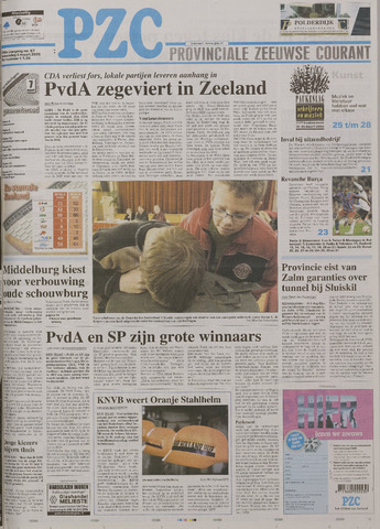 Provinciale Zeeuwse Courant 2006-03-08