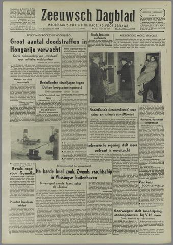 Zeeuwsch Dagblad 1957-01-22