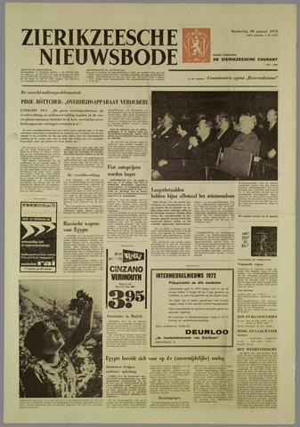 Zierikzeesche Nieuwsbode 1972-01-20