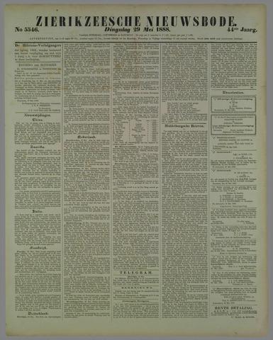 Zierikzeesche Nieuwsbode 1888-05-29