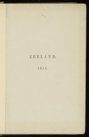 Zeeland jaarboekje 1855-01-01