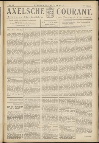 Axelsche Courant 1938-01-25