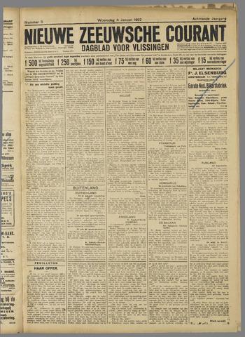 Nieuwe Zeeuwsche Courant 1922-01-04