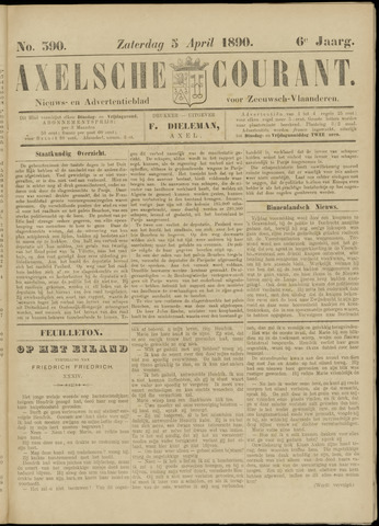 Axelsche Courant 1890-04-05