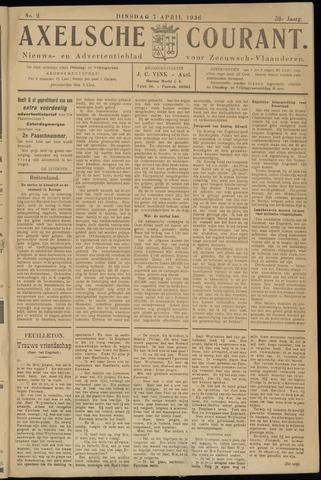 Axelsche Courant 1936-04-07