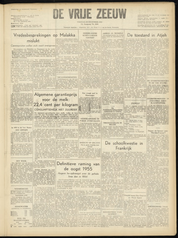 de Vrije Zeeuw 1955-12-30