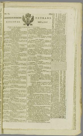 Middelburgsche Courant 1805-07-09