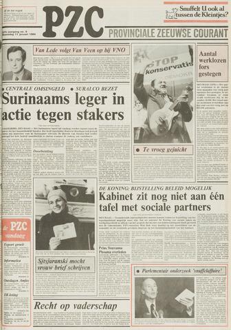 Provinciale Zeeuwse Courant 1984-01-11