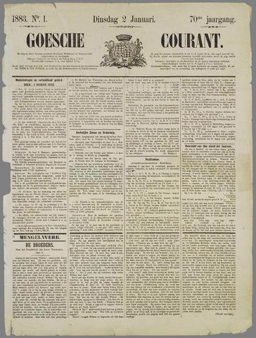 Goessche Courant 1883