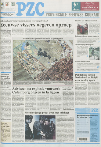 Provinciale Zeeuwse Courant 2001-02-20