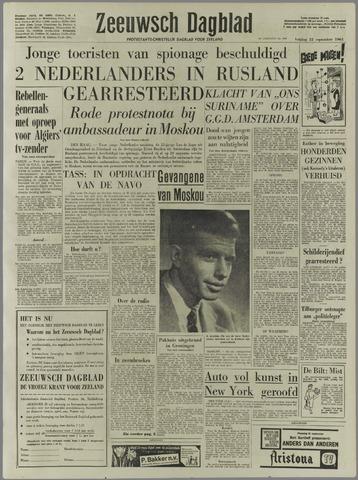 Zeeuwsch Dagblad 1961-09-22