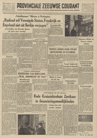 Provinciale Zeeuwse Courant 1959-01-07