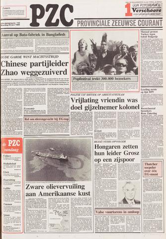 Provinciale Zeeuwse Courant 1989-06-26
