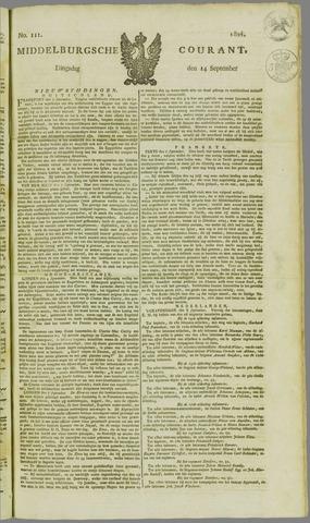 Middelburgsche Courant 1824-09-14