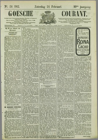 Goessche Courant 1912-02-24