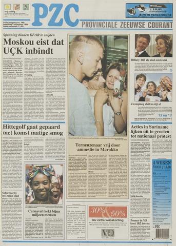 Provinciale Zeeuwse Courant 1999-08-02