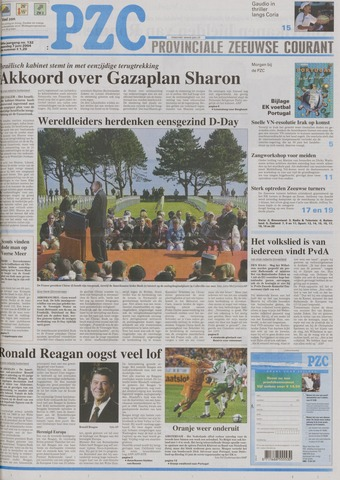 Provinciale Zeeuwse Courant 2004-06-07