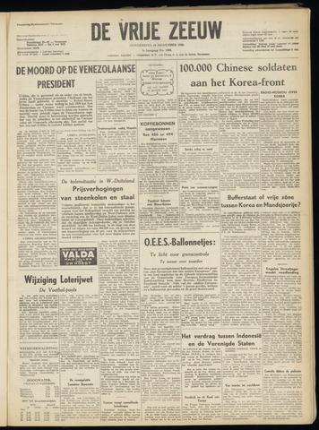 de Vrije Zeeuw 1950-11-16