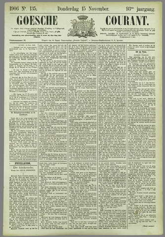 Goessche Courant 1906-11-15