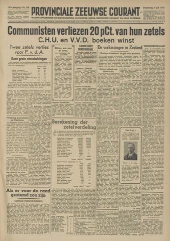 Provinciale Zeeuwse Courant 1948-07-08