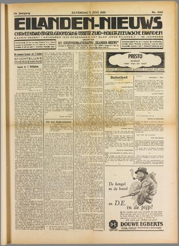 Eilanden-nieuws. Christelijk streekblad op gereformeerde grondslag 1939-06-03