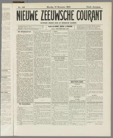 Nieuwe Zeeuwsche Courant 1908-12-29