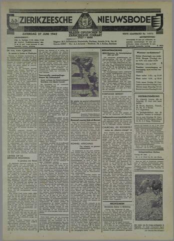 Zierikzeesche Nieuwsbode 1942-06-27