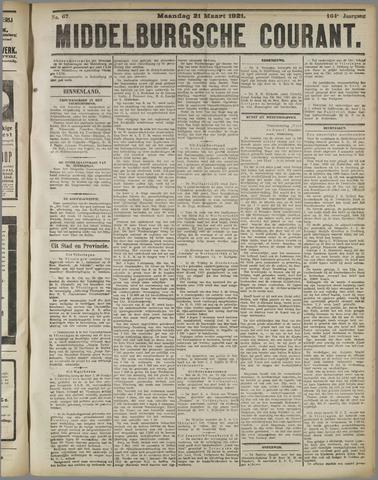 Middelburgsche Courant 1921-03-21