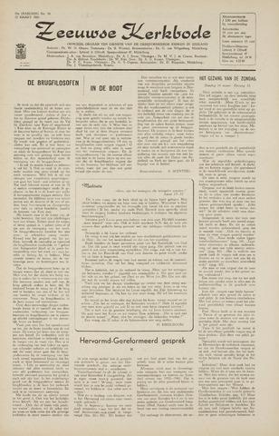 Zeeuwsche kerkbode, weekblad gewijd aan de belangen der gereformeerde kerken/ Zeeuwsch kerkblad 1965-03-12