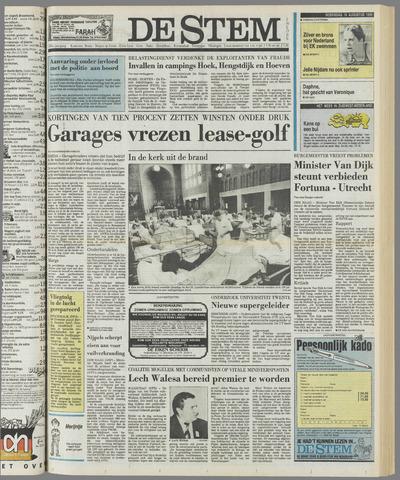 de Stem 1989-08-16