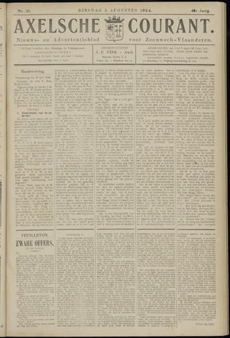 Axelsche Courant 1924-08-05