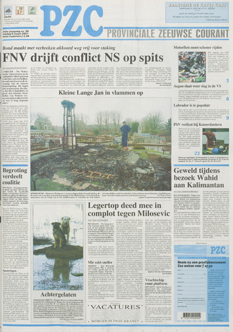Provinciale Zeeuwse Courant 2001-03-09