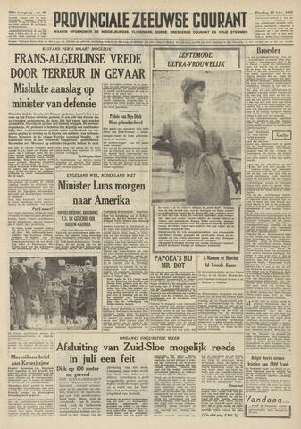 Provinciale Zeeuwse Courant 1962-02-27