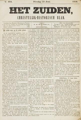 Het Zuiden, Christelijk-historisch blad 1880-06-22