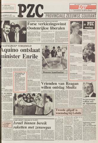 Provinciale Zeeuwse Courant 1986-11-24