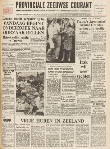 Provinciale Zeeuwse Courant 1967-07-29
