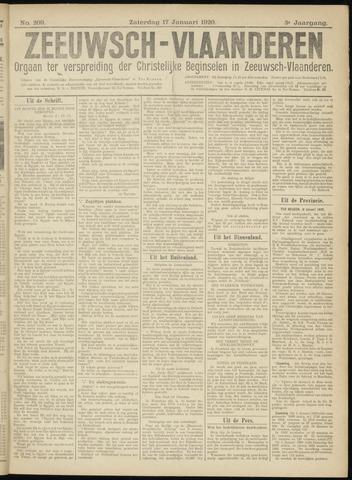 Luctor et Emergo. Antirevolutionair nieuws- en advertentieblad voor Zeeland / Zeeuwsch-Vlaanderen. Orgaan ter verspreiding van de christelijke beginselen in Zeeuwsch-Vlaanderen 1920-01-17